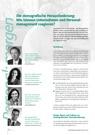 Die demografische Herausforderung: Wie können  Unternehmen und Personalmanagement reagieren?