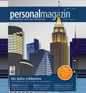 2015-06 Personalmagazin - Vom Verwalter zum Gestalter